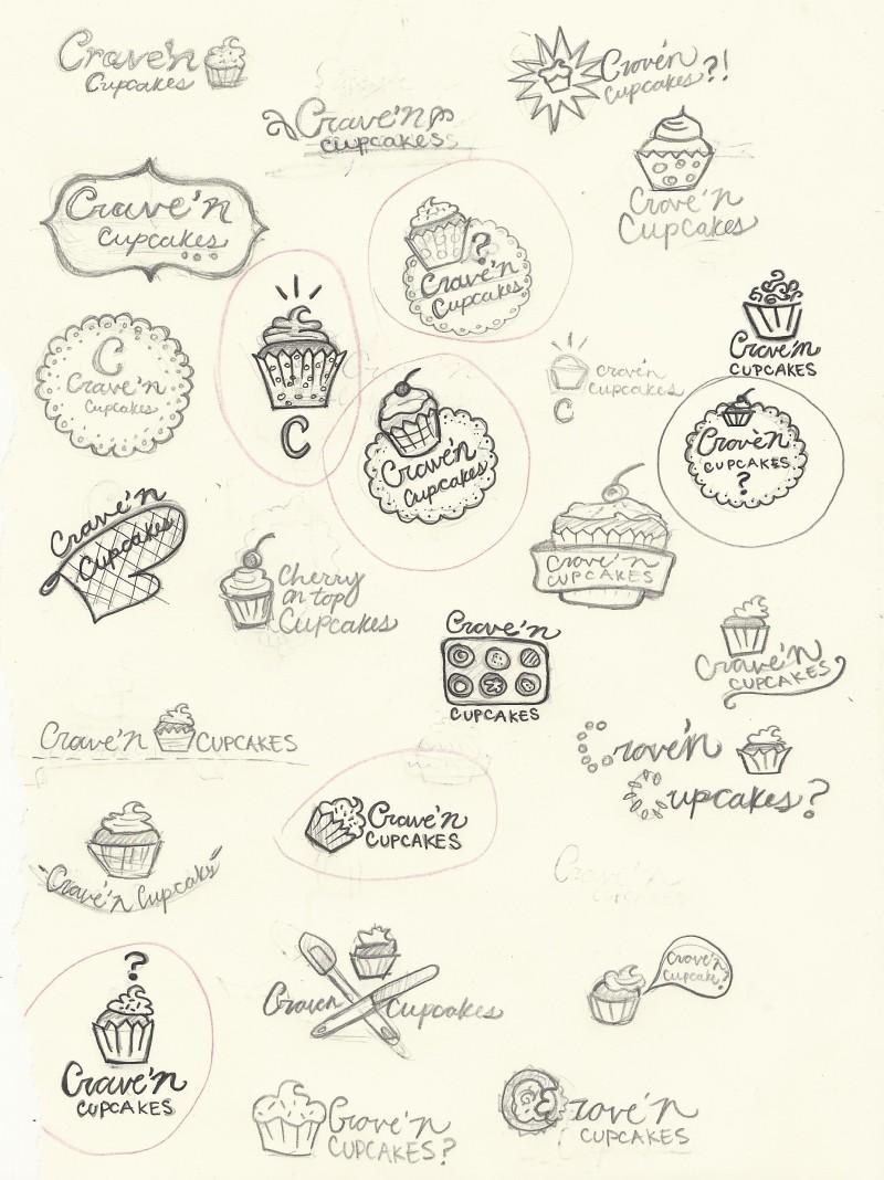 Crave'n Cupcakes Process 1